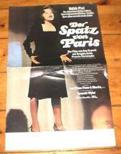 KLEIN  Filmplakat,DER SPATZ VON PARIS,EDITH PIAF