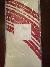 "Ballard Designs Tree Skirt Christmas Annalise 60"" Red White"