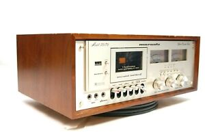 Marantz 5030 Stereo Cassete Deck W/ Dolby Sustem 3 Head Servo Control As Is
