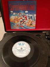 "Ambassadors Of Funk & M.C. Mario ‎– SuperMario Land Vinyl 7"" P/S Single 1992"