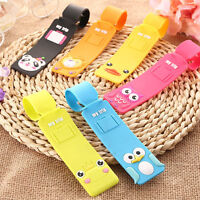 Lovely Silicone Travel Luggage Tags Baggage Suitcase Bag Labels Name Address PZN