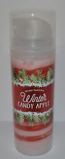 NEW BATH & BODY WORKS WINTER CANDY APPLE SHIMMER SHEA SWIRL LOTION CREAM HAND