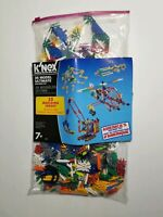 K'NEX 35 MODEL ULTIMATE BUILDING SET WITH INSTRUCTIONS AND SPARES BAG EXTRAS