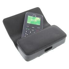 Bolso para seniorenhandy smartphone cinturón bolso funda cubierta protectora negro sh1
