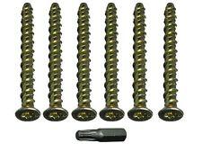 Calcestruzzo Fulmine Lampo Testa Torx Bullone M6 X 75Mm - Punta Libera (Pkt Di 4