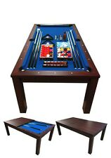 7FT POOL TABLE Model BLUE SKY Snooker Full Accessories BECOME A BEAUTIFUL TABLE