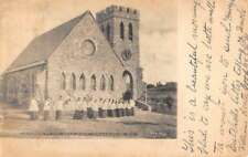 Cragsmoor New York Church Of Holy Name Street View Antique Postcard K78372