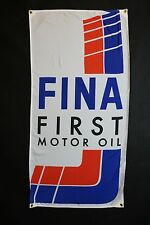 Fina Oil Banner Flag - MotorSport Alpina Hartge M5 Mtechnic M535i M6 Dtm E30 M3