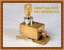 KIRK® KEY INTERLOCK, TRAPPED KEY INTERLOCK, ACE II CYLINDER, OLD INVENTORY