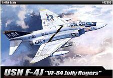 Academy USN F-4J VF-84 Jolly Rogers Cartograf Plastic Model Kit 1/48 Aero 12305