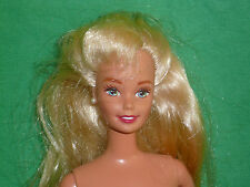 Blonde Bent Arm Barbie Doll ~Good Condition but Needs Cleaning~Play/ Parts/OOAK