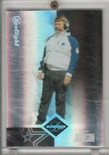 Jimmy Johnson Cowboys 2004 Leaf Limited Spotlight SP 2/50