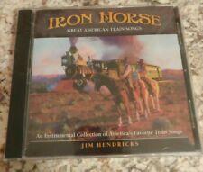 Jim Hendricks: Iron Horse Great American Train Songs New Sealed Instrumental