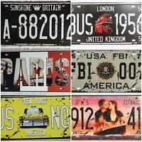 Retro Vintage Metal Tin Sign Poster Plaque Bar Pub Club Wall Home Decor  ☇