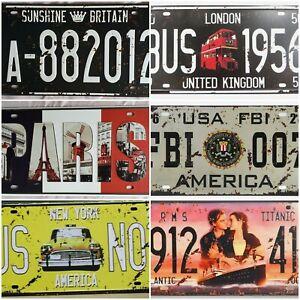 Vintage Retro Metal Tin Sign Poster Plaque Wall Home Bar Pub Club Cafe Decor