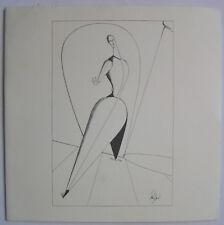 OSKAR SCHLEMMER  - Carton d invitation - 1999