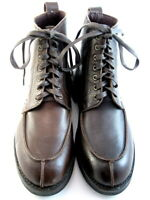 "Allen Edmonds ""Rainier"" Men's Boots Split Toe Blucher 9 D Brown USA(553)"