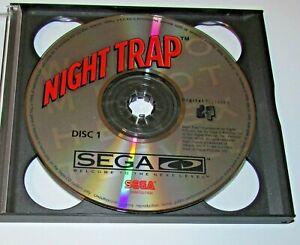 Night Trap (Game Only) Sega CD Fast Shipping