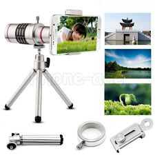18x Pro Optical Zoom Telescope Camera Lens Kit Tripod For Cell Phone Smartphone