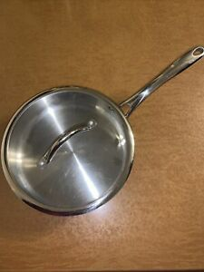 3-Qt. Food Network Stainless-Steel Sauté Pan With Lid