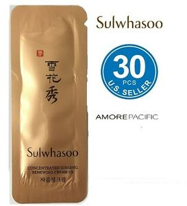 Sulwhasoo Concentrated Ginseng Renewing Cream Ex 1ml x 30pcs (30ml)