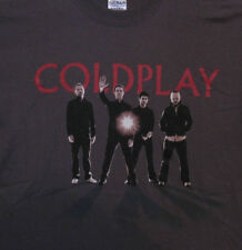 COLDPLAY NEW OFFICIAL XL T-SHIRT ---X&Y  US IMPORT NOT PATCH CD LP PIN BUTTON