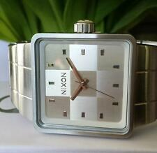 Nixon Analogue Square Wristwatches