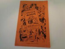 Bob Nelson'S Catalog Of Magic, 1946