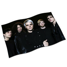 My Chemical Romance Flag Banner NEW Famous Last Words Helena Sing Na Gerard Way