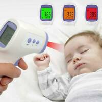 LCD Non-Contact Digital Infrared Forehead Thermometer Baby Adult Temperature Gun