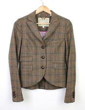 Jack Wills Womens Austerberry 100% Wool Fox Made in England Blazer - UK 8