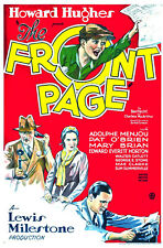 THE FRONT PAGE 1931 Comedy Movie Film PC iPhone INSTANT WATCH