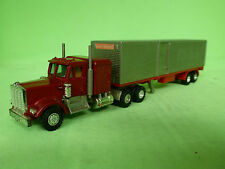 SHINSEI MINI POWER KENWORTH TRUCK WITH TRAILER - VERY GOOD CONDITION -