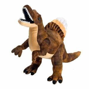 "Wild Republic Dinosauria Mini Spinosaurus 10"" Soft Plush Toy Dinosaur"