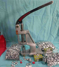Cover Buttons Machine Crafts For Fabric With Two Dies And Free Buttons
