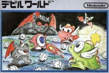 Nes/famicom jeu-Devil World (JAP) (Module)