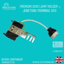 Premium GU10 Ceramic Socket Heat Resistant Flex Lamp Holder Junction Box Fitting