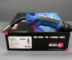 BINZEL MIG MAG Schweißbrenner MB15 Grip AK 3-5m Schutzgas Schlauchpaket Euro