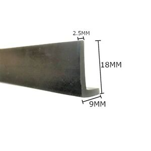L Shaped Rubber Angle Section Edge Trim Seal 18 x 9 mm