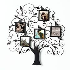 Picture Frame Collage Family Tree Metal Wall Art Decor Home Office Gift New