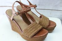 Ugg Brown Wedge 9.5 Women's Shoes Sandals