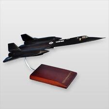 SR-71A Blackbird Wood Desktop Model