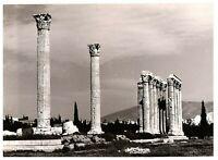 Temple of Jupiter Baalbek Lebanon RPPC Postcard 4 x 6