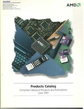 Vintage 1997 AMD Complete Product & Publications Catalog