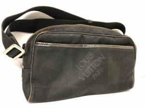 Louis Vuitton Acrobat Waist Pouch Hand bag Black Damier Geant Crossbody