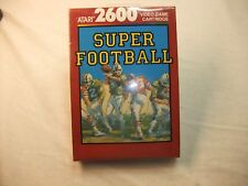 Super Football (Atari 2600, 1988) New never opened shrink wrap is intact