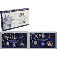2000-S US Mint Proof Set
