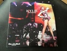 KYLIE MINOGUE . PERFORMANCE Newspaper Promo C.D 14 Songs . SLOW / WOW /