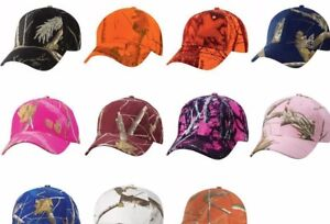Kati Cap Realtree AP Snow Mossy Oak Break Up Blaze Camo Camouflage Baseball Hat