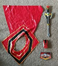 Power Rangers Mystic Force Ultimate Red Ranger Training Set Phone Morpher Sword